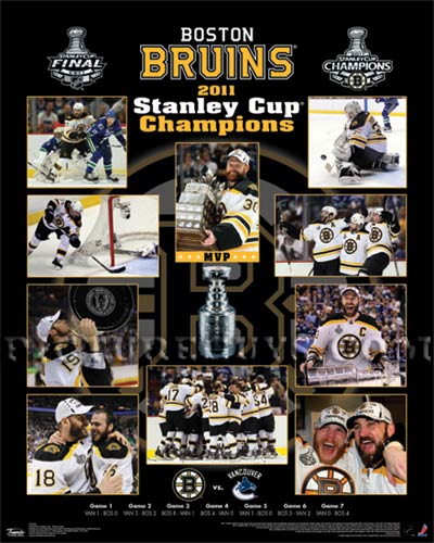 Boston Bruins- 2011 Stanley Cup Champions